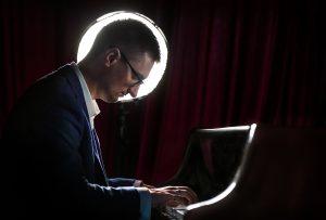 Victor Gashnikov and piano